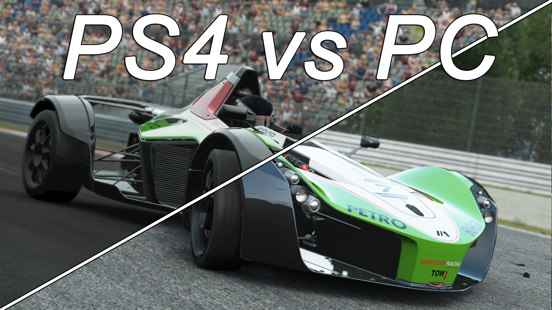 project cars screenshot comparison ps4 vs pc version on. Black Bedroom Furniture Sets. Home Design Ideas