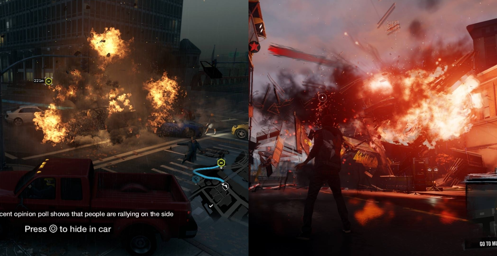Watch Dogs Vs Watch Dogs  Comparison