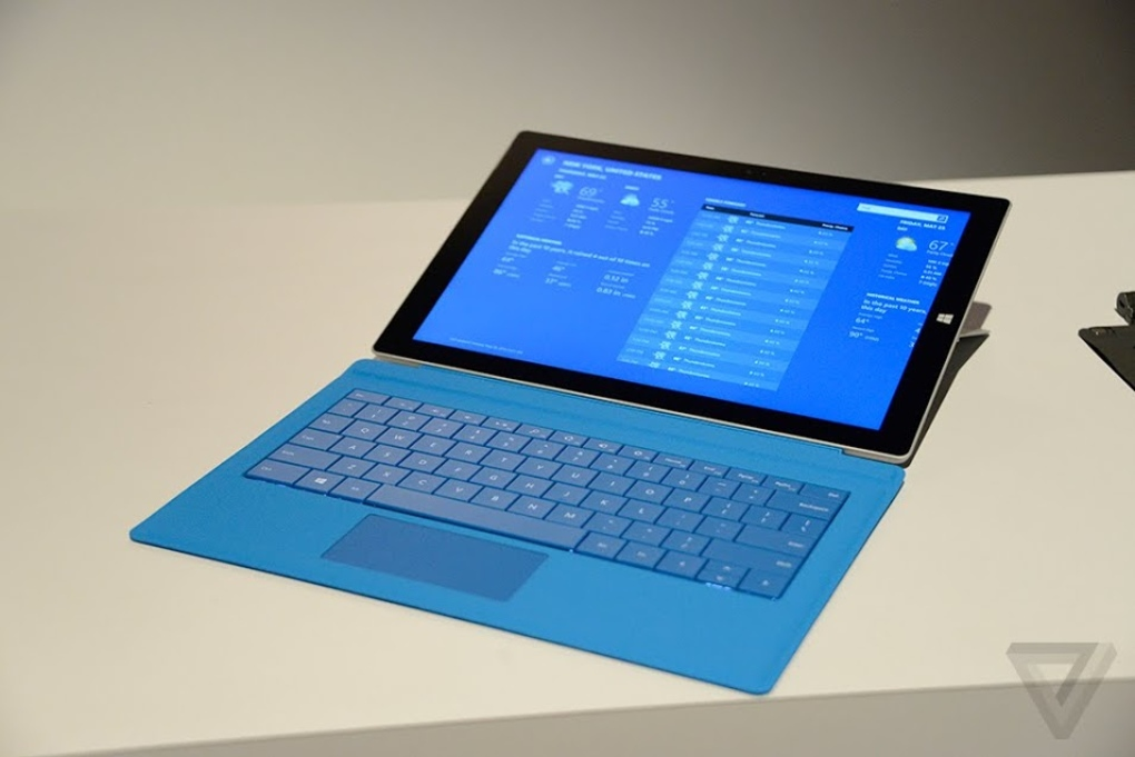 microsoft officially launches surface pro 3 tablet. Black Bedroom Furniture Sets. Home Design Ideas