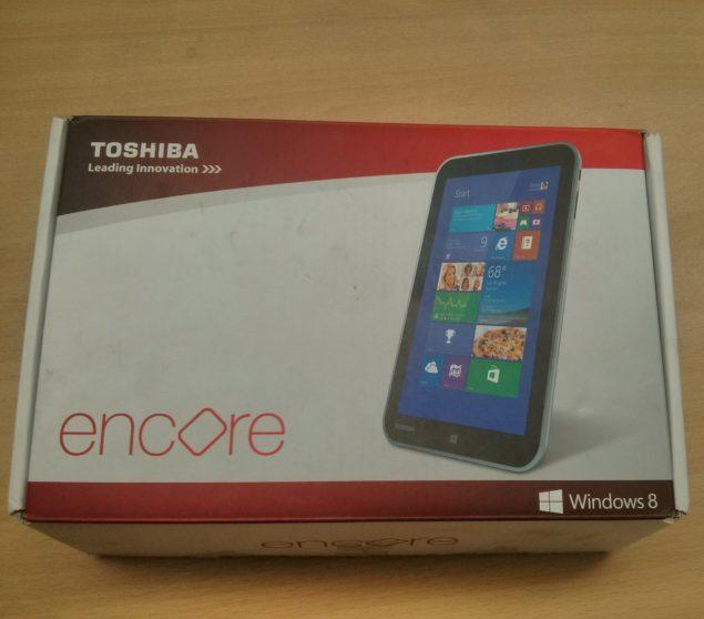 Toshiba Encore 8 Box Front