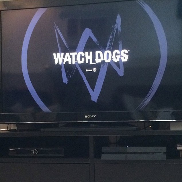 Watch Dogs Intro Screen