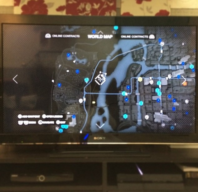Watch Dogs Map