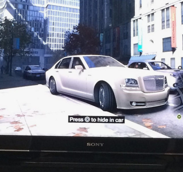 Watch Dogs White Car