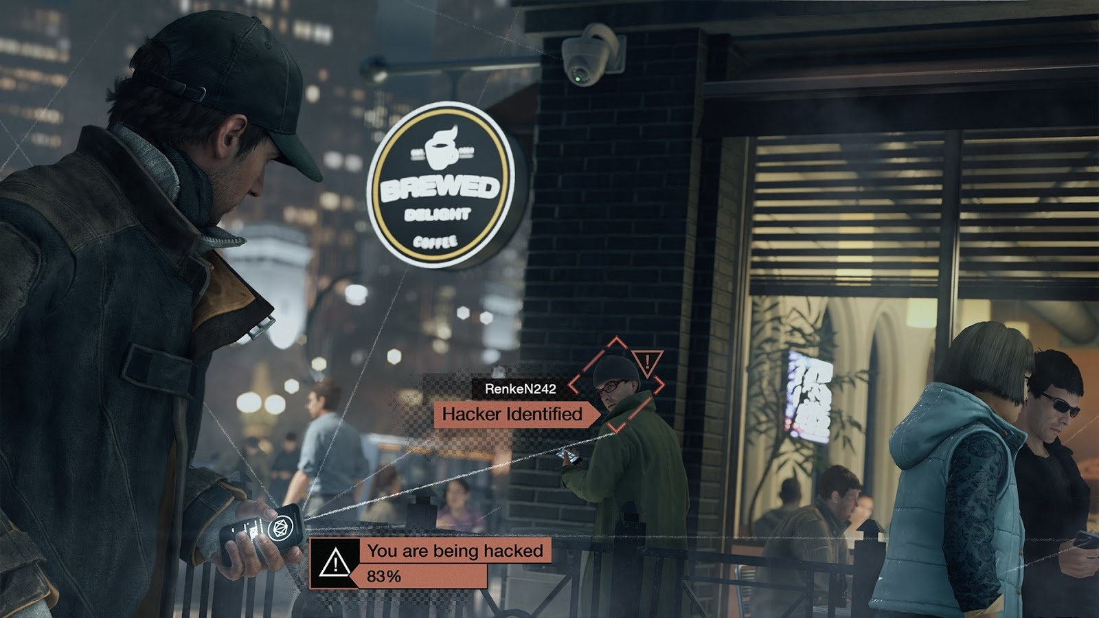 New Watch Dogs Ps4 Full Hd 1080p Direct Feed Gameplay Footage Leaked