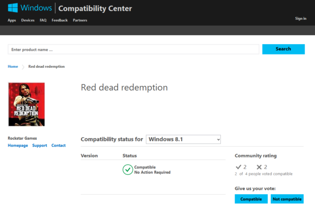 Red Dead Redemption for PC Spotted on Windows 8 1