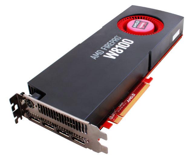 AMD FirePro W8100 GPU