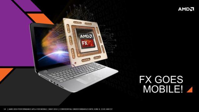 AMD Mobility Kaveri APU FX