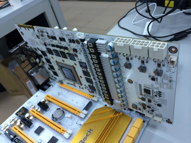 ASRock Galaxy White PCB