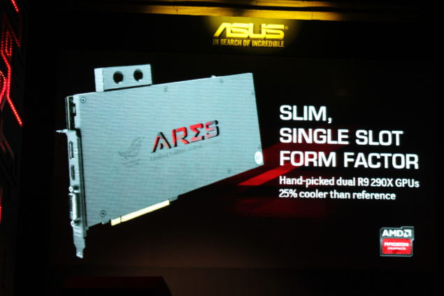 ASUS ARES III Display Connectors