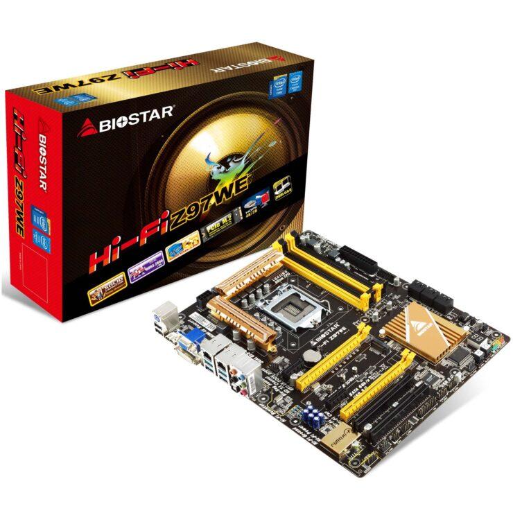 """Biostar Hi-Fi Z97WE LGA 1150 """"Z97-Chipset"""" Motherboard Review"""