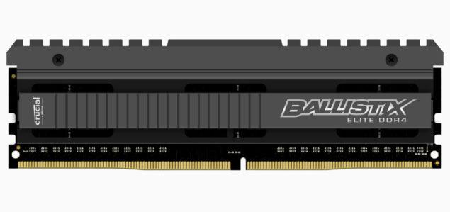 Crucial DDR4 Memory Ballistix Elite