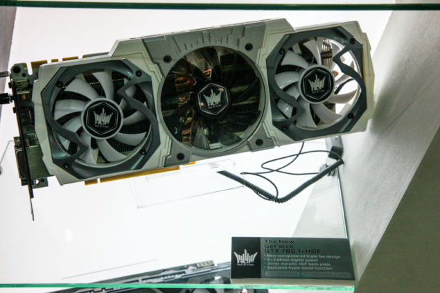 Galaxy GeForce GTX 780 Ti HOF
