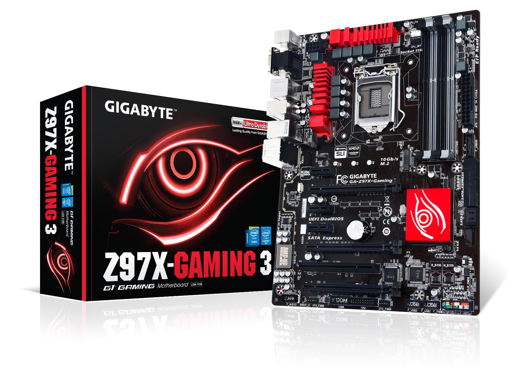 Gigabyte GA-Z97X-Gaming G1 WIFI-BK BigFoot LAN Mac