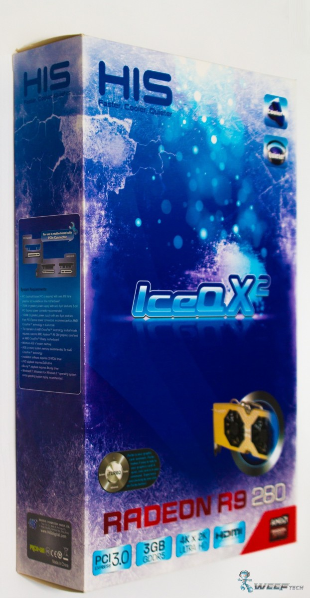 HIS Radeon R9 280 IceQ X2 OC 3 GB GDDR5_Box_front