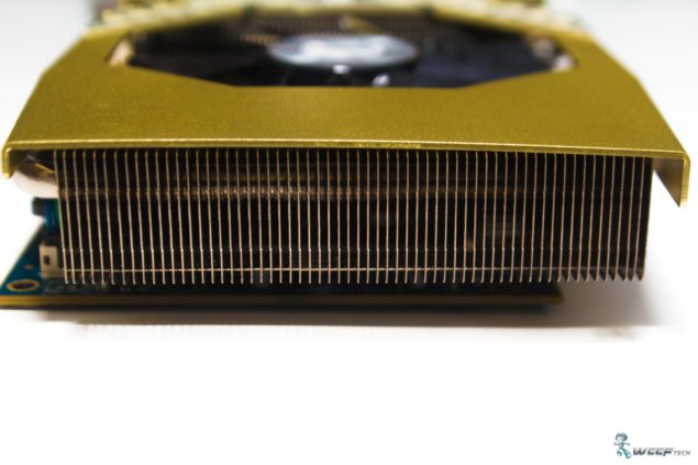 HIS Radeon R9 280 IceQ X2 OC 3 GB GDDR5_Rear Heatsink