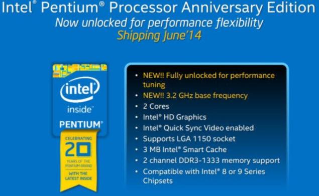 Intel Pentium G3250