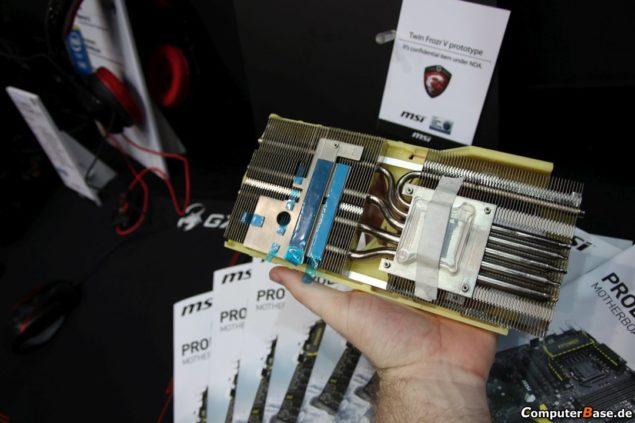 MSI Twin Frozr V GPU Cooler Heatsink