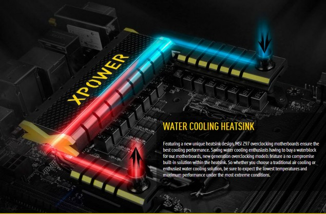 MSI Water Cooling