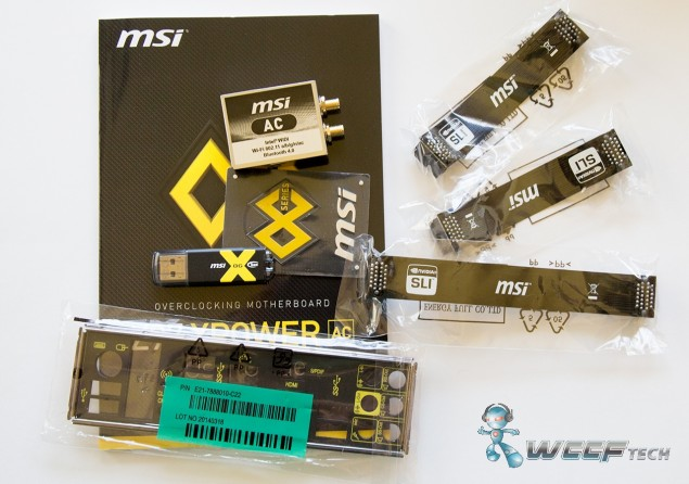 MSI Z97 XPOWER AC _Accessories 2