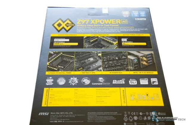 MSI Z97 XPOWER AC _Box Back