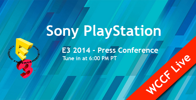 PlayStation Sony E3 2014 WCCF Live