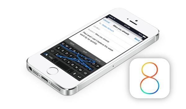 iOS 8 keyboards