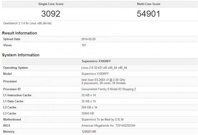 Xeon E5-2683 V3 Processor