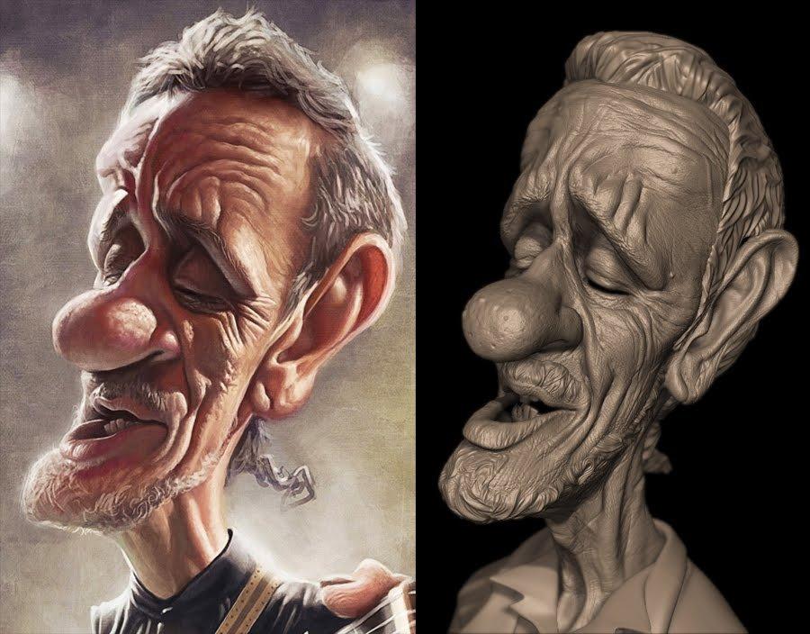 cratoon_head_sculpting_and_concept