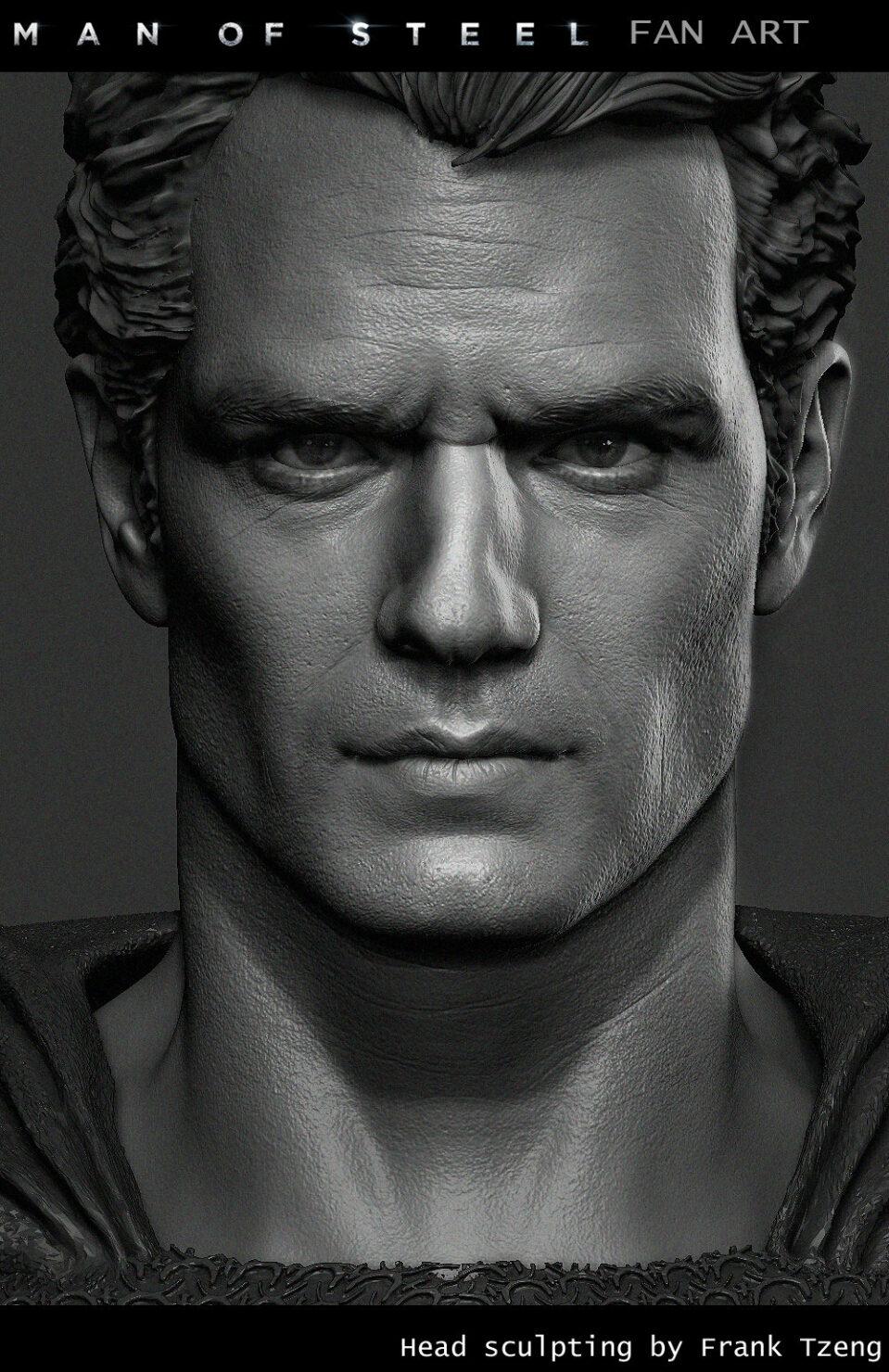 man_of_steel_head_detail
