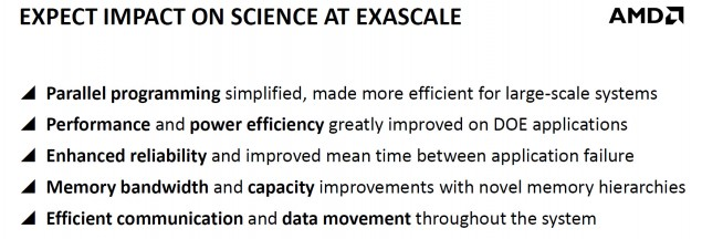 AMD Exascale Science