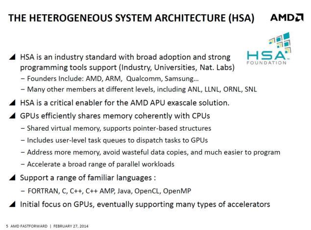 AMD HSA +