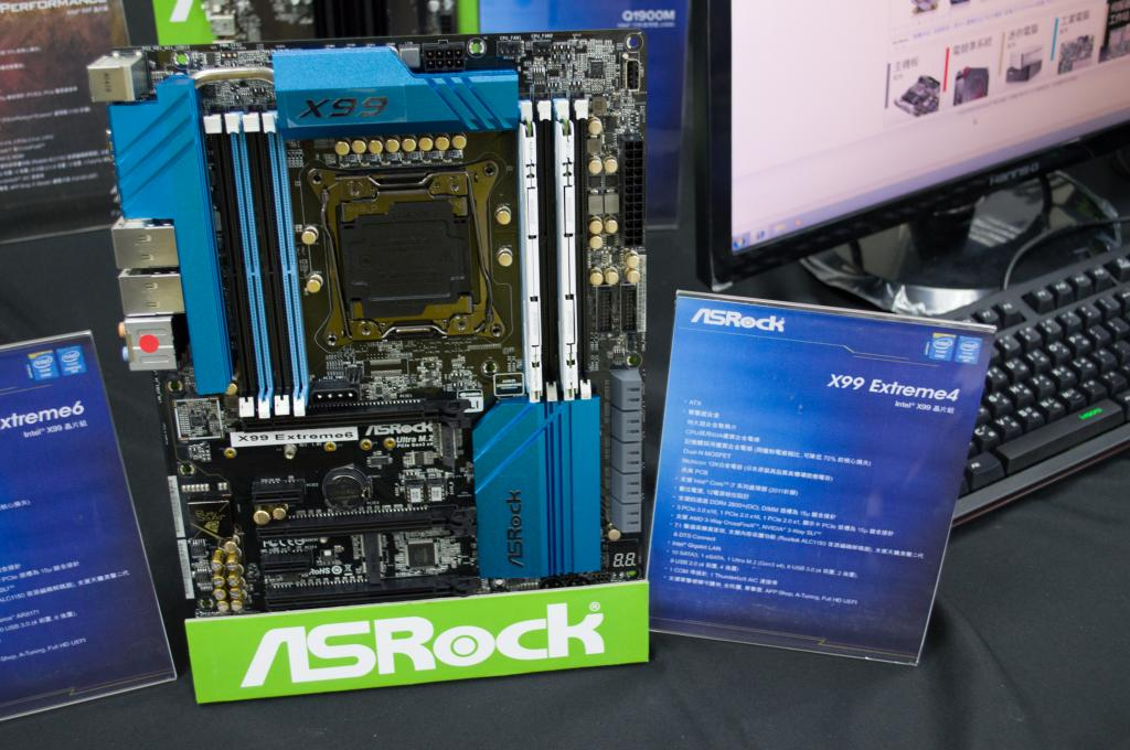 Gigabyte and ASRock Preview the X99 UD7 WiFi and X99 Killer
