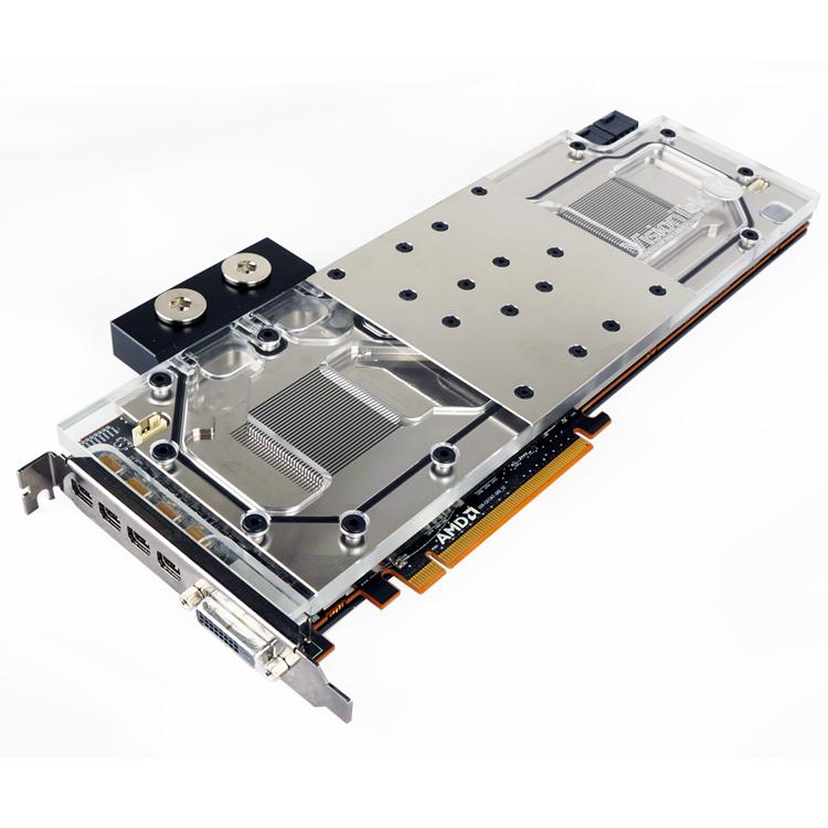 VisionTek's CryoVenom GPU Lineup Expands With CryoVenom Radeon R9 295X2 Liquid Cooled Graphics Card