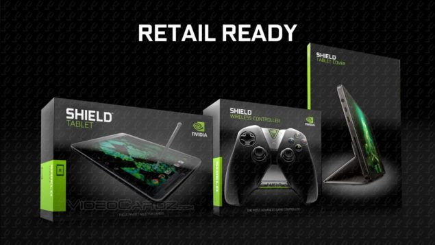 NVIDIA Shield Tablet Retail Packages