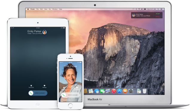 setup handoff on OS X Yosemite