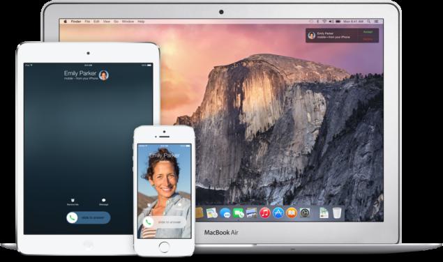 setup handoff on OS X Yosemite