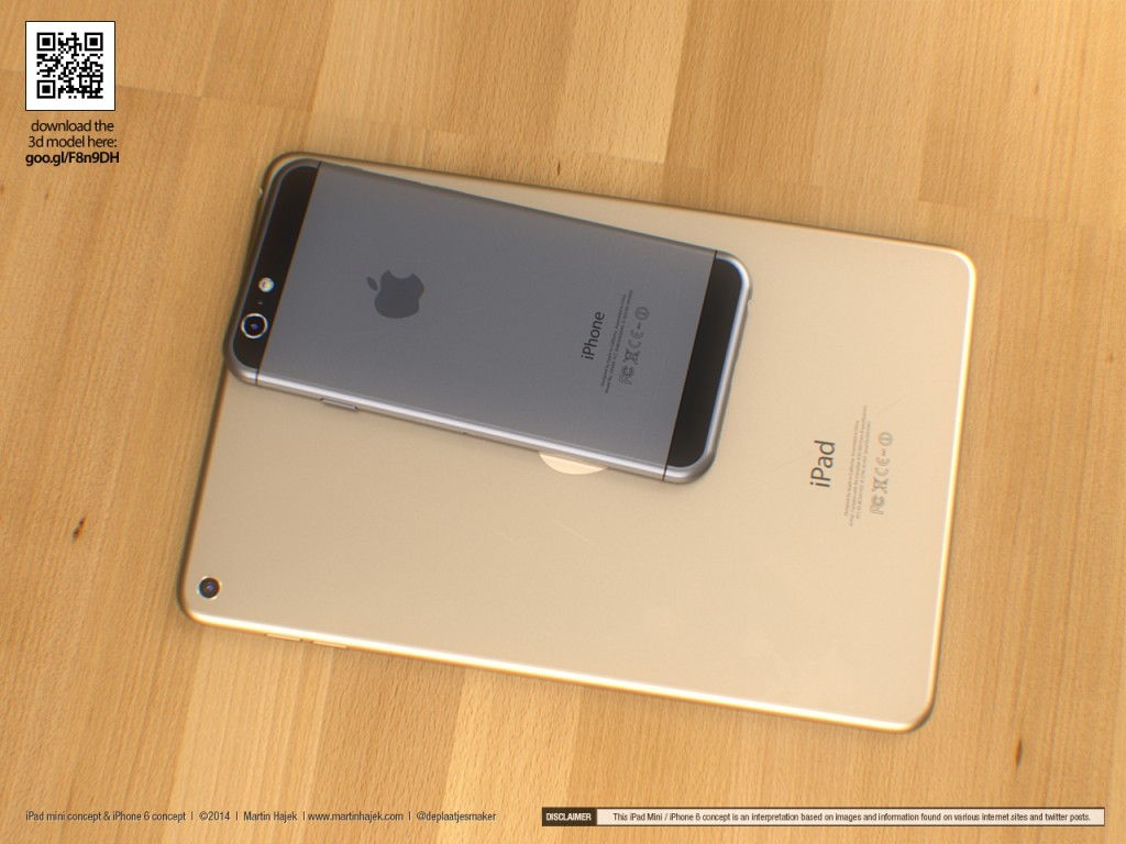 iphone 6 ipad mini retina