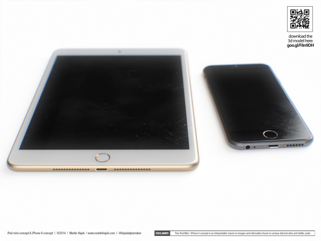 iphone 6 ipad mini 3