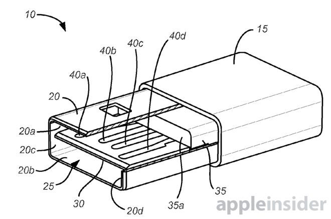 Patent Filing Confirms Apple Interest In Reversible Usb Cable