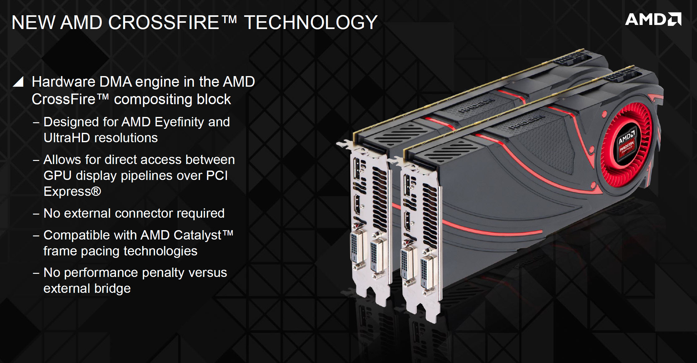 AMD Crossfire XDMA Engine