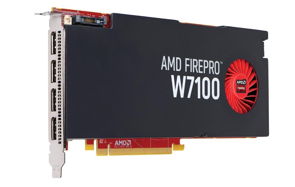 Amd Launches Tonga Powered Firepro W7100 Professional Gpu Also Launches Firepro W5100 Firepro W4100 Firepro W2100