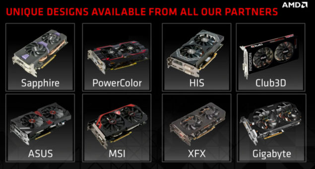 AMD Radeon R9 285 Board Partners