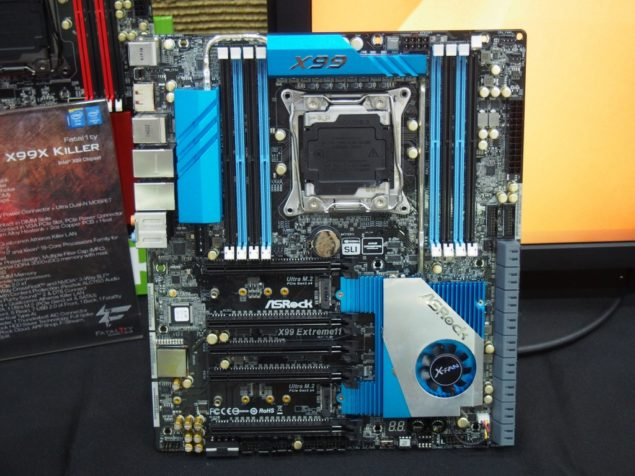 ASRock X99 Extreme 11 Motherboard Picture