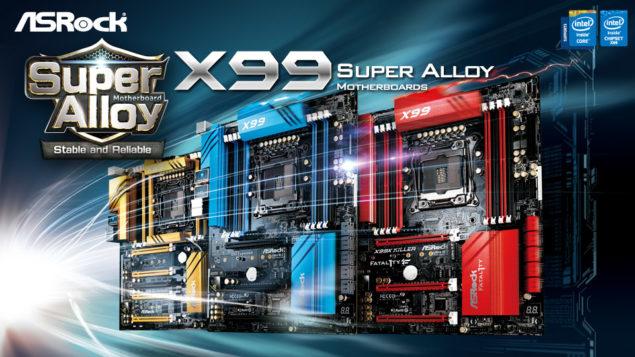 ASRock X99 Motherboards