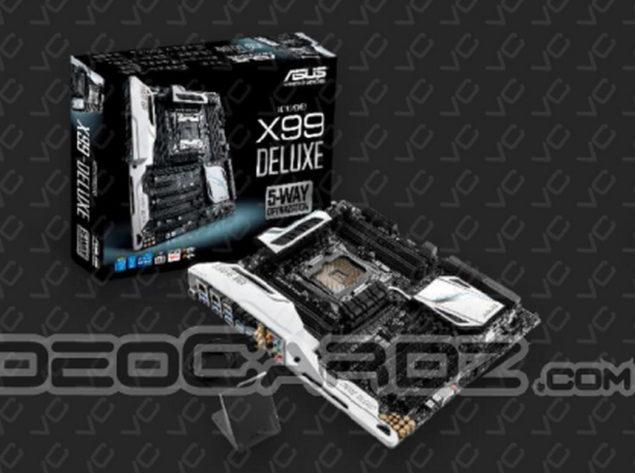 ASUS X99 Deluxe Motherboard