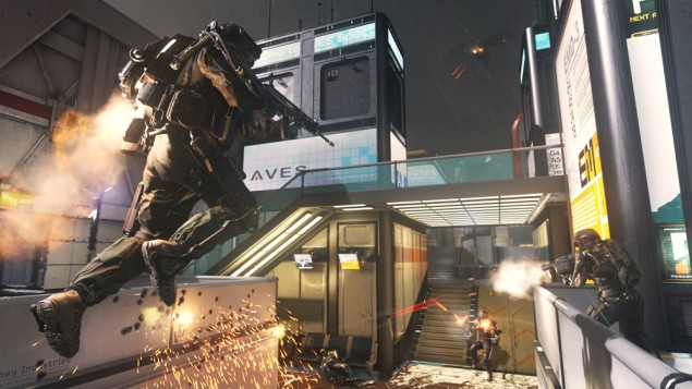Here Are 18 Minutes Of Call Of Duty Advanced Warfare Multiplayer Gameplay Walkthrough