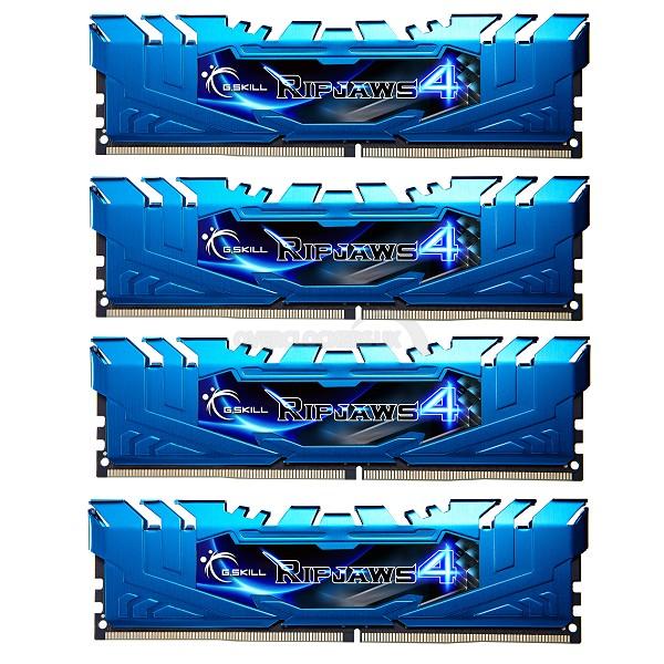 G.Skill Ripjaws IV DDR4 Memory Blue