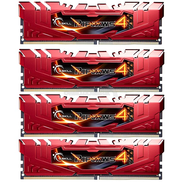 G.Skill Ripjaws IV DDR4 Memory Red