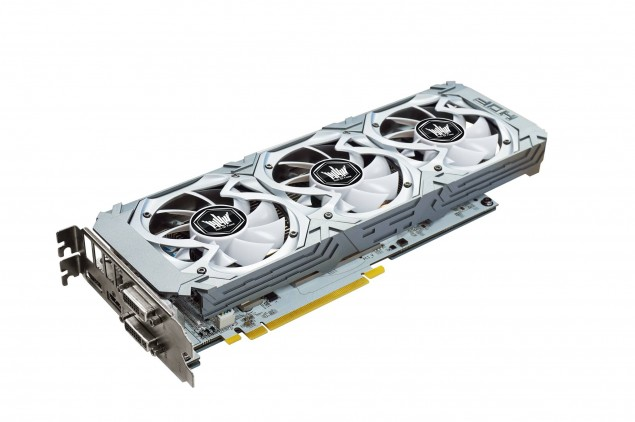 Galaxy GeForce GTX 750 Ti HOF  1
