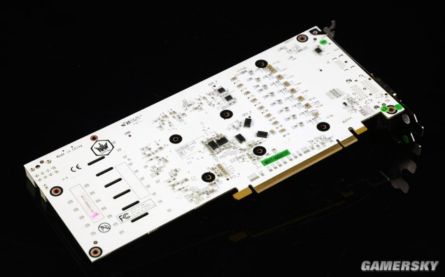 Galaxy GeForce GTX 750 Ti HOF_BackPCB